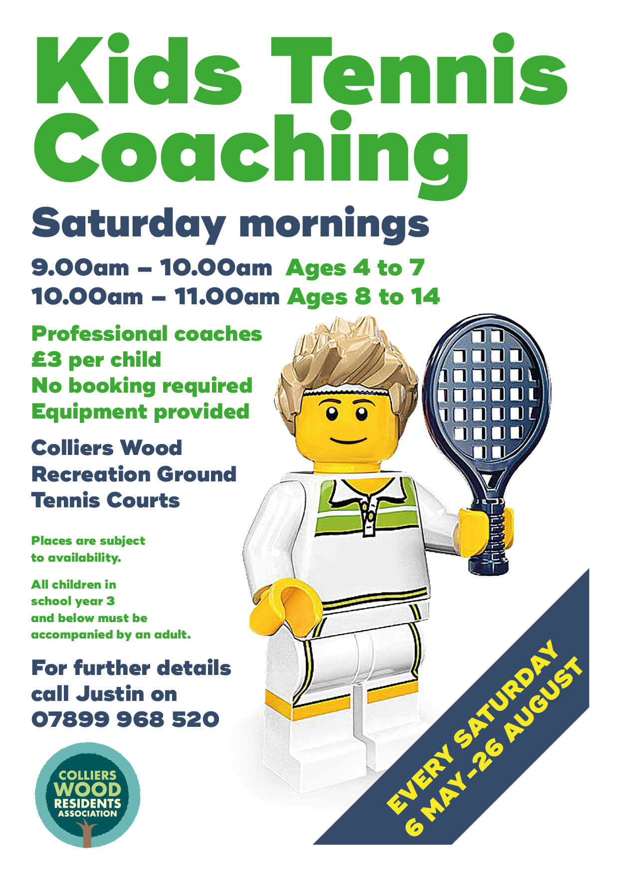 Kids Tennis Coaching