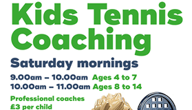 Kids Tennis Coaching