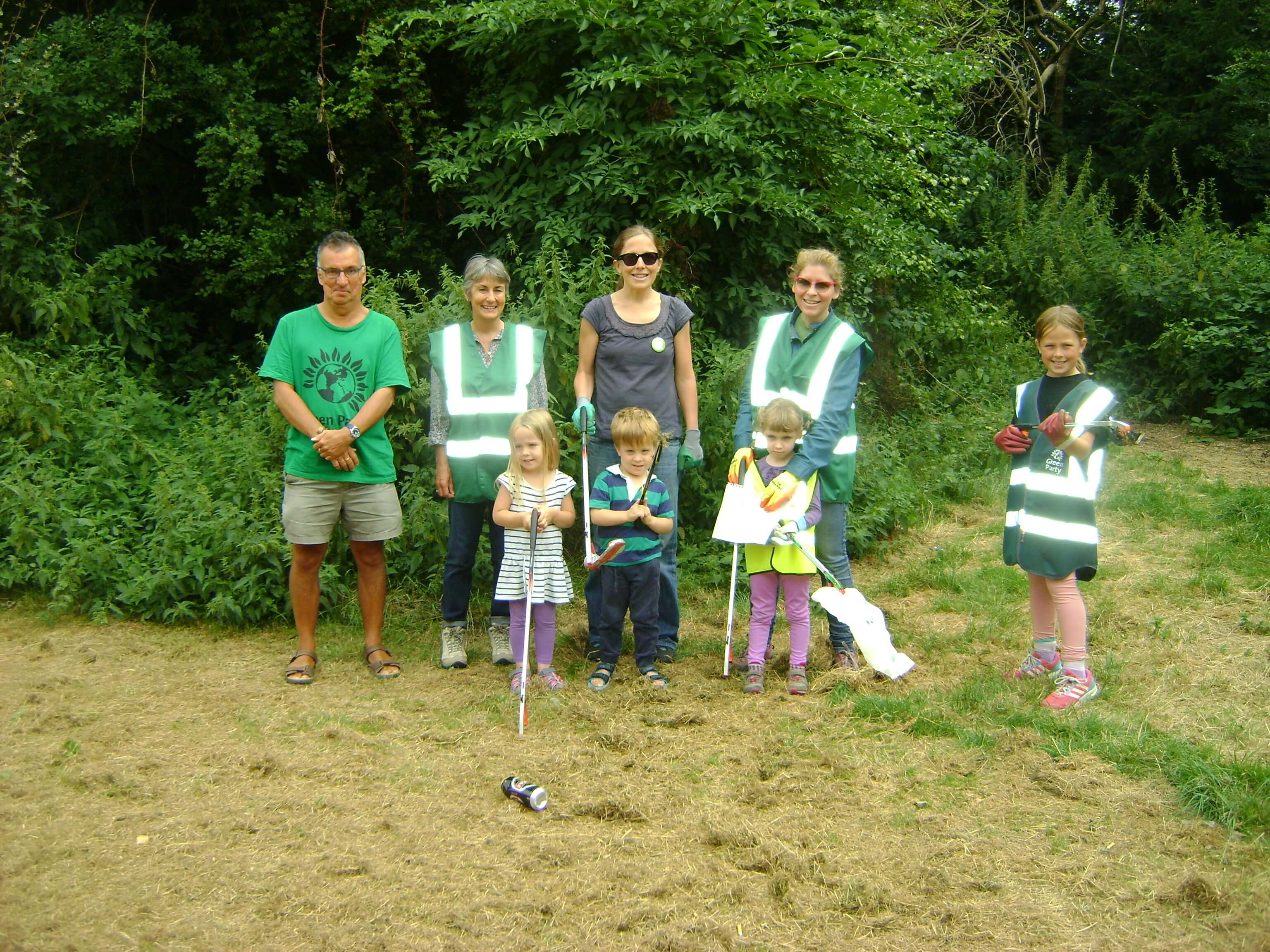 Merton Greens Litter Pick