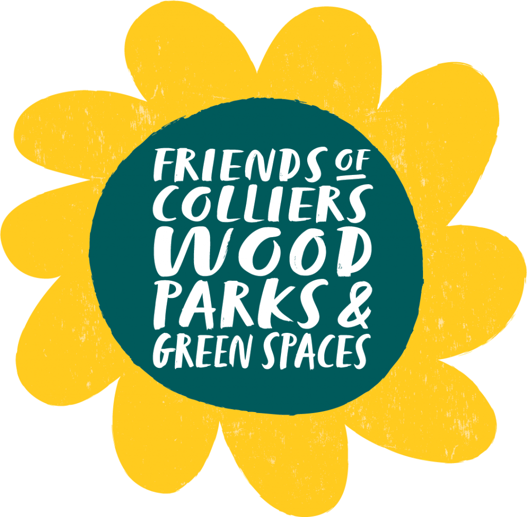 Friends of Colliers Wood Logo Yellow